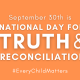 Read article: National Day for Truth and Reconciliation Statement